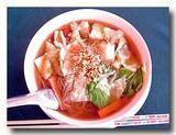 クイッティオ・ナーム・プラームック イカ入り汁麺 センミー