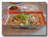 フライドホッケンミー シンガポール風福建麺 横から