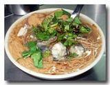総合麺線 牡蠣とモツ入り煮込み素麺