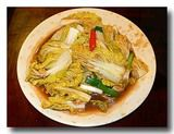 高冷娃娃菜 ベビー白菜の炒め物