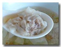 扁食 ワンタン アップ