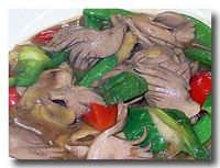 炒豚腰 豚の腎臓の炒め物