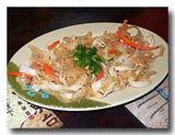 涼拌海蜇皮 クラゲの和え物 皿全体