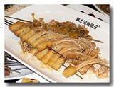 エノキの串焼き