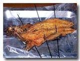 焼明太魚 魚の明太子づけ焼き