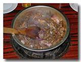 焼牛肉 鍋焼き肉 2