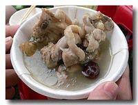 麻油鶏 鶏酒スープ