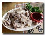 蒜泥白肉 ゆで豚バラ肉の大蒜ソース