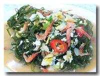 炒海菜 海草の炒めもの