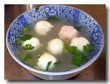 旗魚丸湯 カジキマグロのつみれスープ