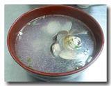 蛤湯 はまぐりスープ