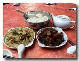 客家文笋と梅菜扣肉
