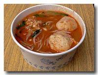 沙茶面 ピーナッツ風味汁麺