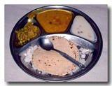ターリー インドの定食