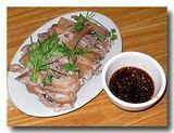 咸水鴨 鴨の塩煮 とソース