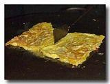 テロールダダール 焼き上がった卵焼き