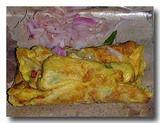 テロールダダール 焼き上がった卵焼き くるくるまき