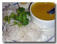 ナム・ヤー タイ風カレー素麺