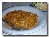 ミー・アチェ アチェ風麺 皿全体