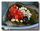 バチャン 肉粽/ちまきの中身の説明