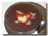 ソパ・デ・フリホレス 黒豆のスープ