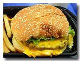 チーズハンバーガー メキシコ