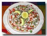 セビッチェ 魚介のマリネサラダ