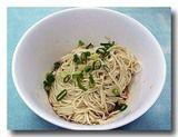 福州乾拌麺  [福州風汁なし和え麺] どんぶり全体