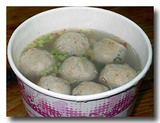 伝統魚丸湯 青魚の団子スープ