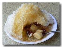 潮州冷熱冰 台湾風かき氷汁粉