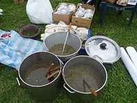 プユマ族大猟祭のごちそう