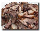 石板山猪肉 豚肉の石板焼き