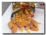 タイ航空の機内食ででたムーングダル入りミックスナッツ