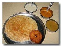 ウッタパム インド風お好み焼き 豆粉のお好み焼き