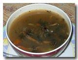 グンドゥルック・バトマス・スルワ 乾燥発酵野菜と大豆のスープ