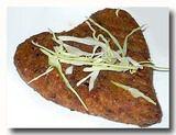 ベジタブルカツレツ 野菜コロッケ ハート型 インド 朝食