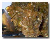 バイガン・カ・バルタ 焼き茄子のミンチの和え物 パンジャブ料理