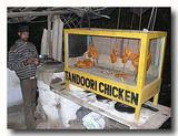 鶏肉をスパイス漬けした物 タンドールで焼く前