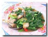パッカナームー 豚肉とカイラン菜の炒め物