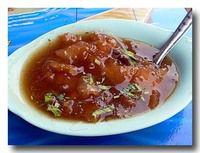 カポップラーナムデーン 魚の浮き袋のあんかけスープ