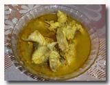イカン・クア・クニン 魚のターメリック煮 家庭料理で