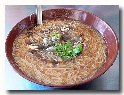 蚵仔麺線 牡蠣入り素麺