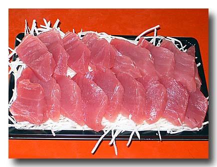 生魚片 鮪の刺身 東港